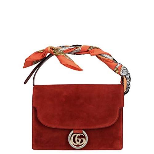 Gucci Luxury Fashion Donna 5964781DGOG6779 Rosso Borsa A Mano | Autunno Inverno 19