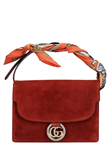 Luxury Fashion | Gucci Dames 5964781DGOG6779 Rood Suôde Handtassen | Herfst-winter 19