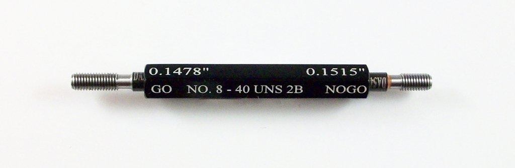#8-40 UNS Class 2B Taperlock Set Plug Thread Austin Mall Gage New Orleans Mall