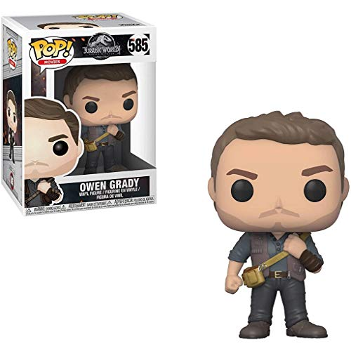 Funko Pop Movies : Jurassic Park 2 - Owen#585 3.75inch Vinyl Gift for Movies Fans SuperCollection