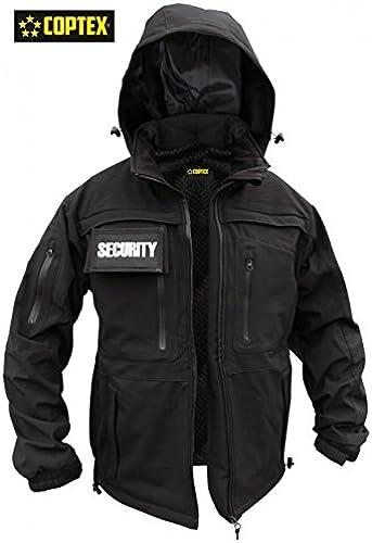 Veste Softshell Security, S, Noir, 5