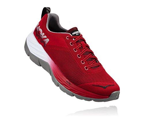 HOKA ONE ONE Men's Mach Racing Red/Black Running Shoe 10.5 Men US