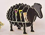Zzaoxin Estanterías Estantería, estantería Creativa de ovejas Estanterías con Forma de Animal Decoración para Nios Muebles Decoración de Mesa para habitación de Nios-I 98x55x64cm (39x22x25)
