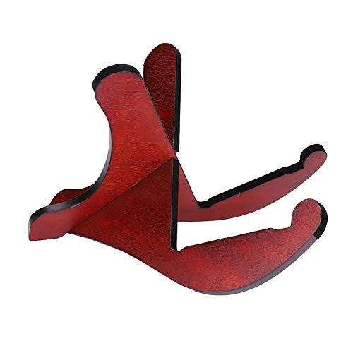 Dilwe Holz Gitarrenständer, Holz Abnehmbarer Platzsparender Rack Halter für Akustikgitarren