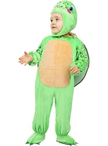 Funidelia   Disfraz de Tortuga para bebé Talla 0-6 Meses ▶ Animales - Color: Gris / Plateado - Divertidos Disfraces y complementos para Carnaval y Halloween