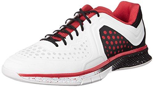 adidas Performance Herren Adizero Counterblast 7 Handballschuhe, Weiß (Crystal White S16/Vivid Red S13/Core Black), 48 EU