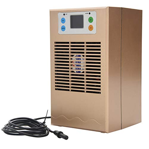 Zerodis Enfriador de Agua para pecera Enfriador para Acuario Enfriador para pecera(UE)
