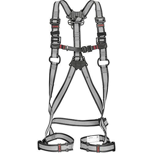 タジマ フルハーネス安全帯ZA 軽量アルミ・ワンタッチ腿バックルモデル Mサイズ白 AZAM-LWH
