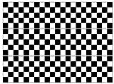 Kuchenband mit karierter Flagge, essbarer Zuckerguss oder Waffel, 3 Streifen, 6,3 x 26,7 cm (Zuckerguss)