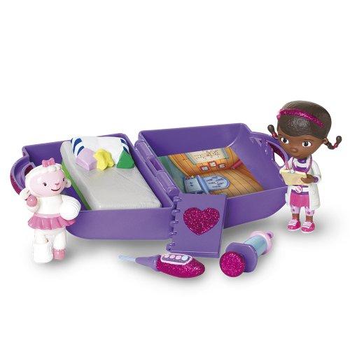 Docteur La Peluche - Mini Clinic - Valise-Clinique et Mini Figurines Doc et Câline (Import Royaume-Uni)