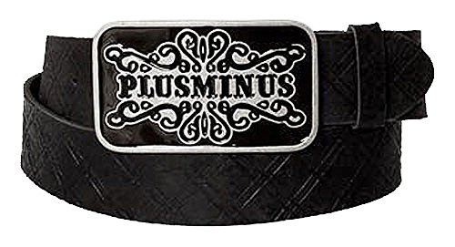 Chiemsee Ceinture homme pm logo buckle dkgrey 85cm