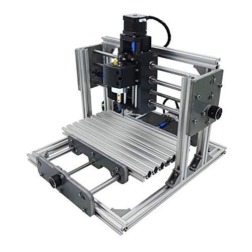 SISHUINIANHUA Graveur Mini DIY CNC-Fräser Holz Metall Craving Gravieren Schneiden Fräsen Desktop-Graveur Maschine 240x170x65mm