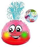 Rpaio Sprinkler Ball Spielzeug for Kinder Badespielzeug, Mulple Kind-Bad-Spielzeug-Sprenger-Wasserspielzeug mit Musik & Lampe Bad Spray Spielzeug automatischer Induktion Sprinkler Baby-Spiel Badespiel