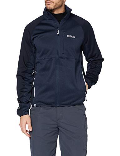 Regatta Herren Foley II HYBRID Softshelljacke, dehnbar, mit Reißverschlusstaschen, Soft Shell, Nightfall/Navy, FR: 2XL (Größe Hersteller: XXL) Jacke