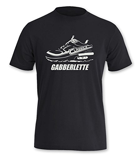 T-Shirt Hardcore Hardcore GABBERLETTE Gabber Männer Shirt (L)