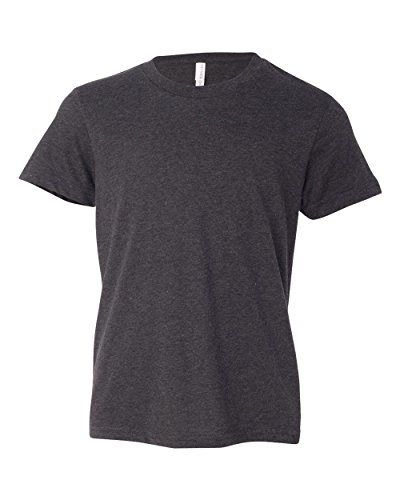 Youth Jersey Short-Sleeve T-Shirt DRK GREY HEATHER L