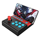Arcade Fighting Stick, Joystick Fightstick, Bluetooth inalámbrico Controlador Joystick Mando para Juegos de Lucha para iOS Android Teléfono móvil, iPhone, iPad, Tableta, Smart TV