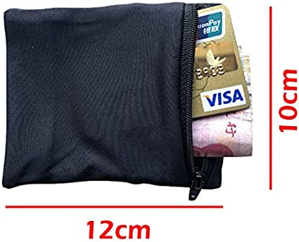 Moaly Sport Wrist Pocket Pouch Running Gym Bag Wallet Wrist Cell Phone Holder for Cycling Mobile Phone Cards