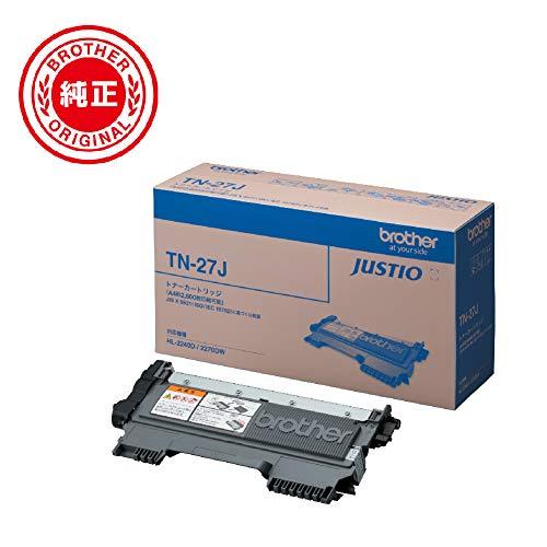 『ブラザー工業 【brother純正】トナーカートリッジ TN-27J 対応型番:MFC-7460DN、DCP-7065DN、DCP-7060D、FAX-2840、HL-2270DW、HL-2240D 他』の2枚目の画像