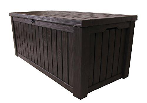Keter Kissenbox Rockwood, braun, 570L, 155cm - 4