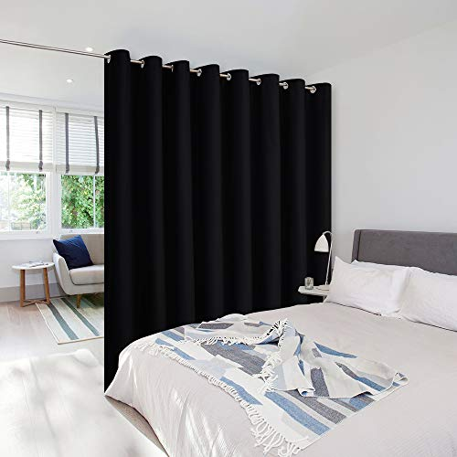 NICETOWN Room Dividers Panel Screens Partitions, Wide Width Grommet Top Morden Privacy Curtain Room...