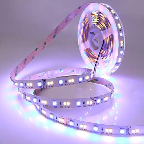 LEDENET Super Hell SMD 5050 2835 DC24V 120W 540LEDs RGB+Dual White RGB-CCT RGBW LED Stripe 5M(Nicht wasserdicht)