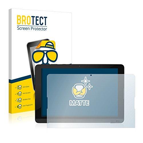 BROTECT 2X Entspiegelungs-Schutzfolie kompatibel mit LG G Pad 3 10.1 Bildschirmschutz-Folie Matt, Anti-Reflex, Anti-Fingerprint