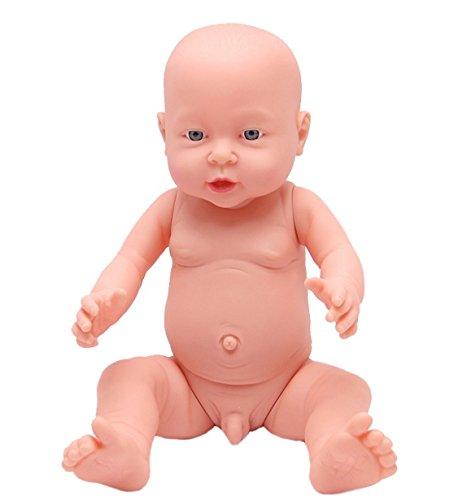[PNSO] ベビー ケア トレーニング モデル 新生児 赤ちゃん 人形 40CM マネキン 模型 沐浴 の 練習 などに リアル な 医学 救急 育児 講座 授業 体験 産科 看護 助産 妊婦 乳児 教育 (男の子)
