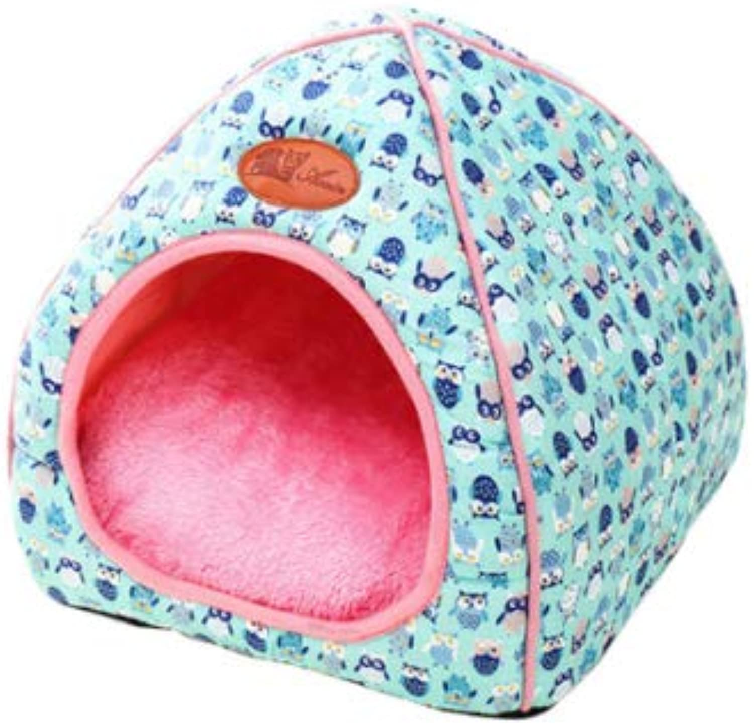 Cookisn 1PC Pet Dog Bed & Sofa Warming Dog House Soft Dog Nest Winter Kennel for Puppy Cat Plus Size Small Medium Dogs Pet Bule XL