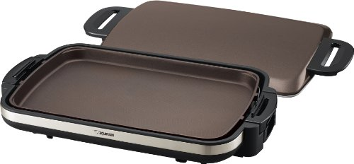 Zojirushi EA-DCC10 Gourmet Sizzler Electric Griddle,Stainless Brown