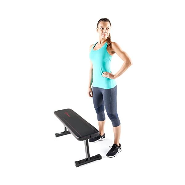 Fitness Equipment Shopping Marcy Flat Utility 600 lbs Capacity Weight Bench for Weight Training