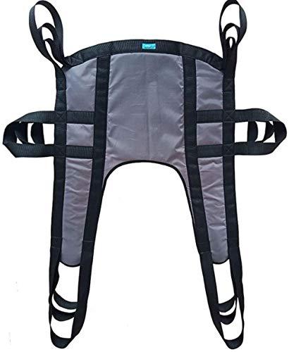DLLY Ganzkörper-Patientenlifter Sling, Mit Commode Öffnungs mit geteiltem Bein,Für Krankenpflege,ältere Menschen,Behinderte,A