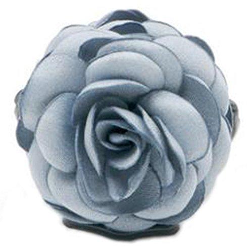 Fleurs/cheveux Barrette pince à cheveux pour les femmes/Lady/Girls Hair Ornament, bleu clair # 1