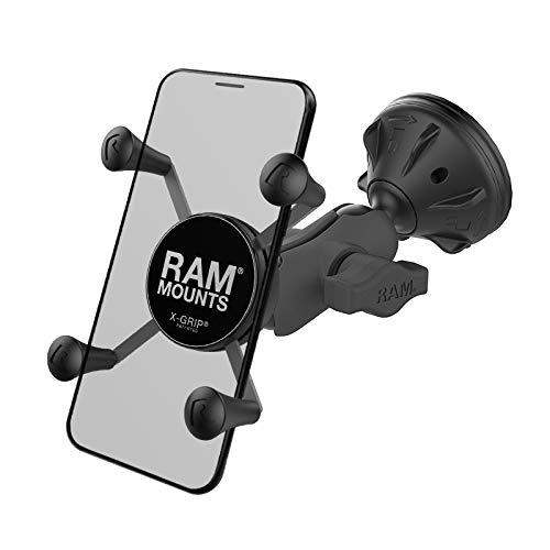 Ram Mounts UNPD RAM MNT W Short ARM Suction RAM X-Grip, RAP-B-166-2-A-UN7U (Suction RAM X-Grip)