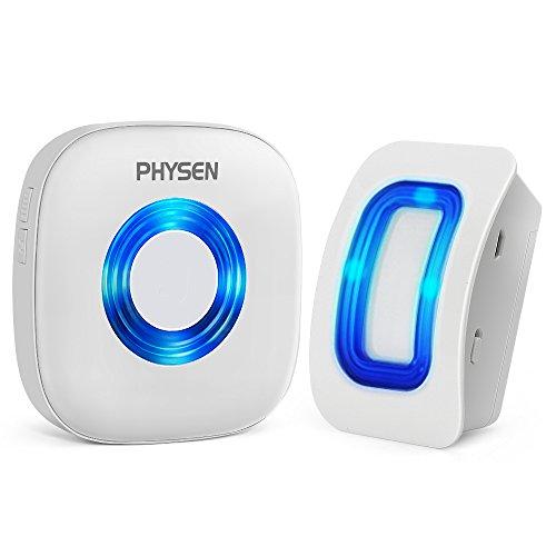 PHYSEN Wireless Door Motion Sensor Alarm,Door Open Chime Detect...