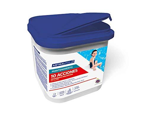 Astralpool Cloro 10 Efectos_Tabletas 250g (Bote 5kg)_Formato 2019