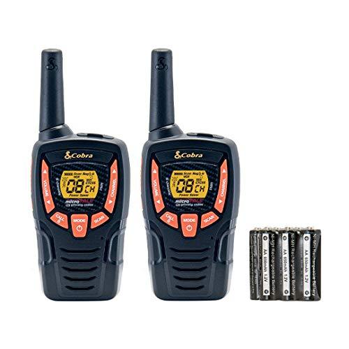 Cobra PMR AM645 Comunicadores de Dos Vías, 8 kms, Unisex Adulto, Negro, M
