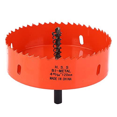 Juego de sierra perforadora para perforar madera, plástico, aluminio, metal acero inoxidable 105-140mm m42