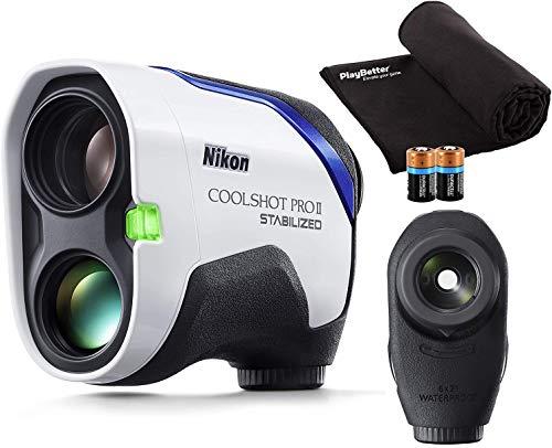 Nikon Coolshot Pro II Stabilized Golf Laser Rangefinder