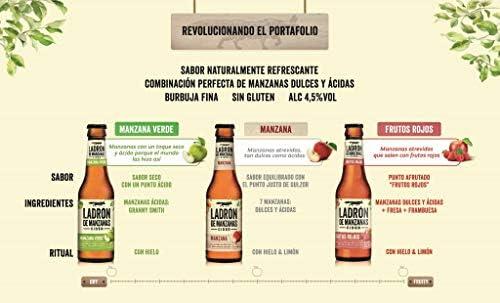 Ladrón de Manzanas Cider Pack Botellas, 6 x 250ml: Amazon.es ...