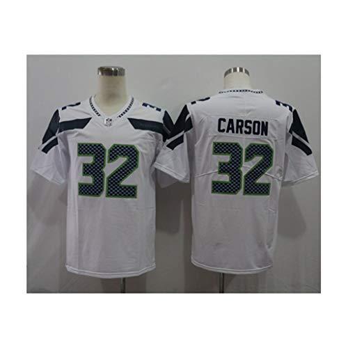 NFL Fußball Trikot der Männer Seattle Seahawks #3 Wilson #12#32 Fußballtrikot Kurzarm Sport Top T-Shirt Rugby Jersey