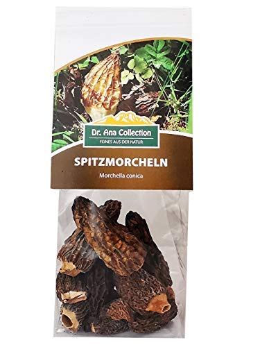 Dr. Ana Collection - getrocknete Spitzmorcheln ganze Köpfe (100g) - erhältlich in den Varianten 15g - 100g