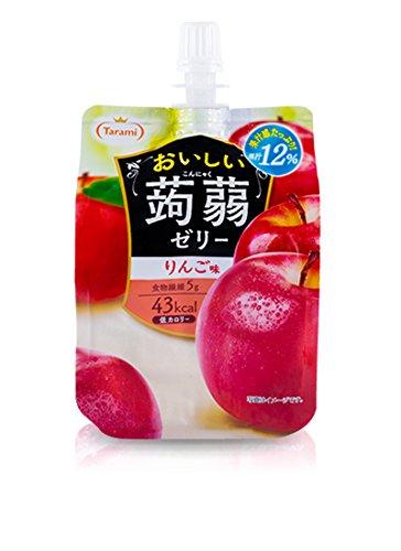 たらみ おいしい蒟蒻ゼリー りんご味 150g 【30個セット】