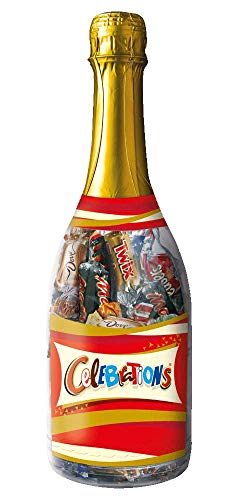 Celebrations Champagnerflasche   Mini-Schokoriegel Mix   3 Flaschen (3 x 312 g)