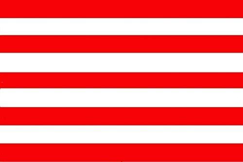 Gran Bandera de Atletico Madrid sin Escudo 150 x 90 cm Durobol Flag Satén