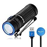 OLIGHT S1R Baton II LED Linterna Potente Lámpara de Mano Linterna Recargable USB Luz Portátil de 1000 Lúmenes,145 Metros, 8 días, Ideal para Paseos con Perros, Senderismo, Uso Doméstico