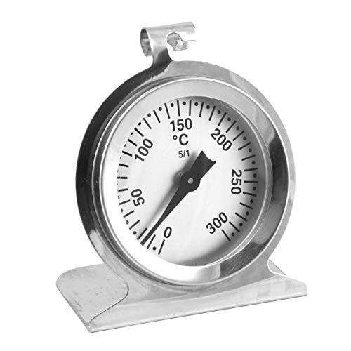 Lantelme Edelstahl Backofenthermometer 300 °C Analog Backofen Bratofen Herd Thermometer 3245