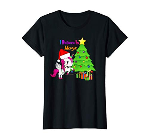Camiseta navideña, Unicorn, Christmas Tree Ornament Camiseta