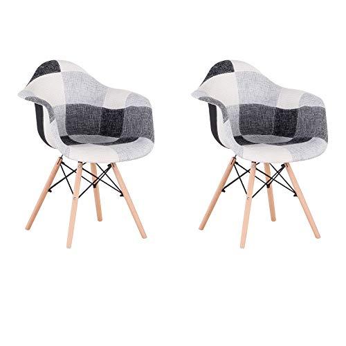 Sillas De Comedor Set 6 Tela sillas de comedor set 6  Marca BenyLed