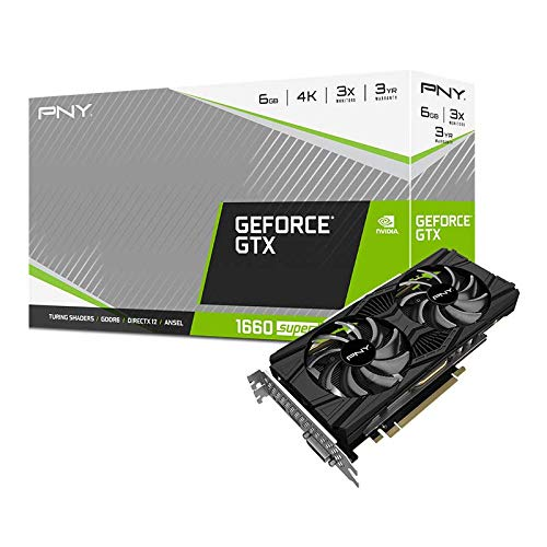 PNY GeForce GTX 1660 Super 6GB Twin Fan Grafikkarte